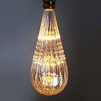 LED лампа Эдисона BT-125  (3w)  VINTAGE Fireworks