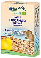 Fleur Alpin Каша Fleur Alpine Organic овсяная с грушей с 5 месяцев 200 г