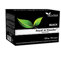 DeLaMark Концентрированный бесфосфатный стиральный порошок «Royal Powder Black» (0,5кг)