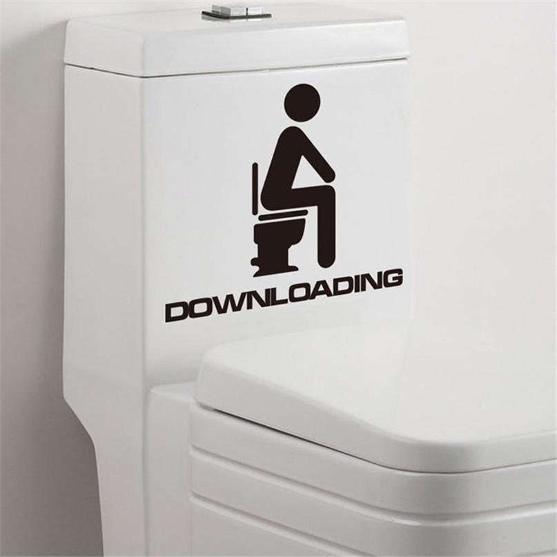 Наклейка WC туалет 2 (товар при заказе от 200 грн) - магазин-студия Цацки в Чернигове
