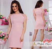 Яркое женское платье мини