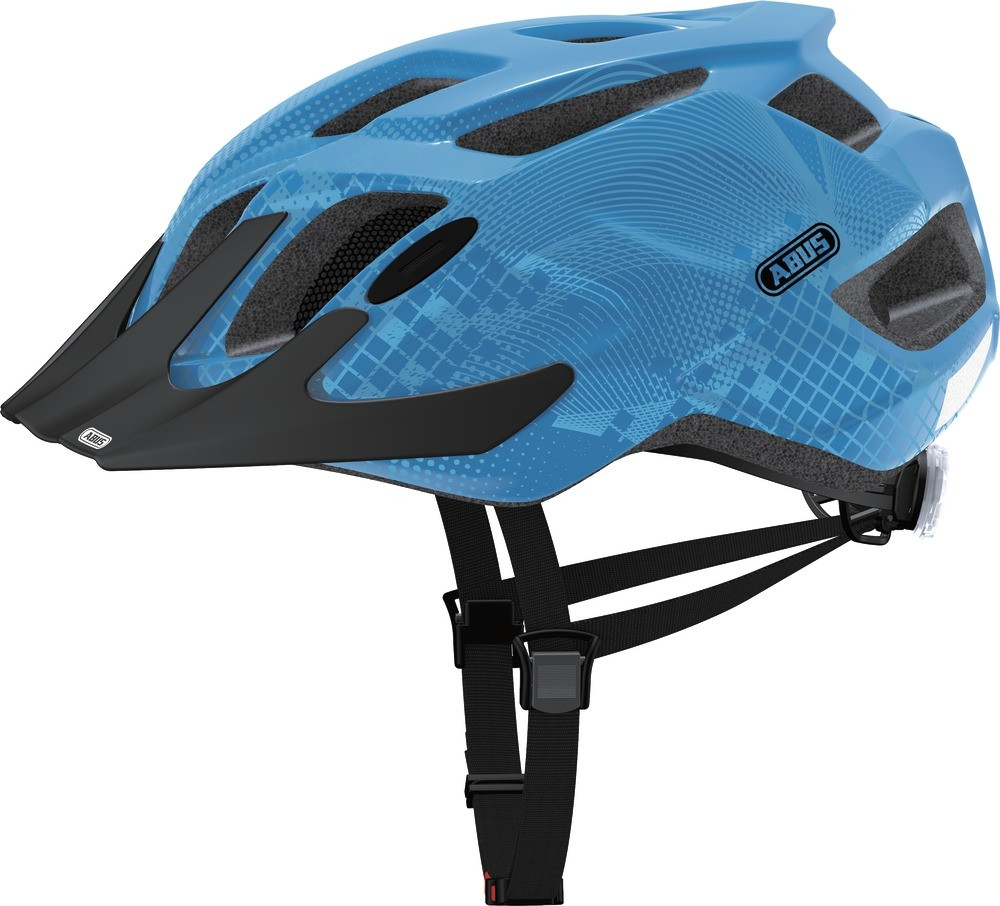 Велошлем ABUS MOUNTX Caribbean Blue (M)