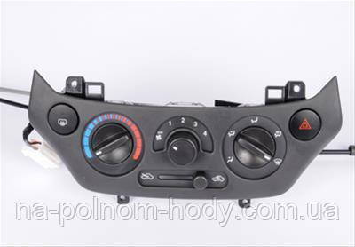 Блок управления отопителем Авео Т250 (Черный) GM