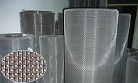 Нержавеющая сетка тканая 0.56х0.4 мм квадратными ячейками.