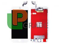 Дисплей для iPhone 6S Plus + touchscreen, белый, оригинал (Китай)