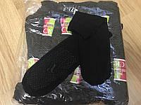 """Носки женские, высокие чёрные с тормозами """"Капрон"""""""