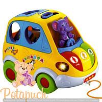 Детская развивающая игрушка сортер Автошка 9198