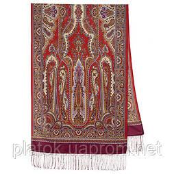 Місто золотий 1643-57, павлопосадский шарф-палантин вовняної з шовковою бахромою