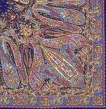 Жасмин 1176-13, павлопосадский платок (шаль, крепдешин) шелковый с шелковой бахромой, фото 2