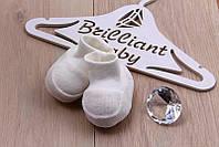Пинетки для новорожденных велюровые от производителя
