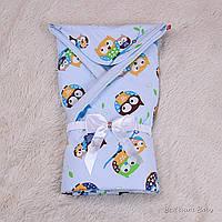 """Конверт-одеяло для мальчика на выписку """"Valleri"""" от производителя"""