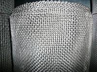 Н/ж 0,4-0,2 мм ст.12Х18Н10Т Сітка ткана н/ж