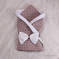 """Стильный конверт-одеяло """"Valleri"""" для новорожденных"""