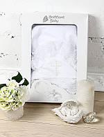"""Изысканное крестильное полотенце """"Любовь"""", фото 1"""