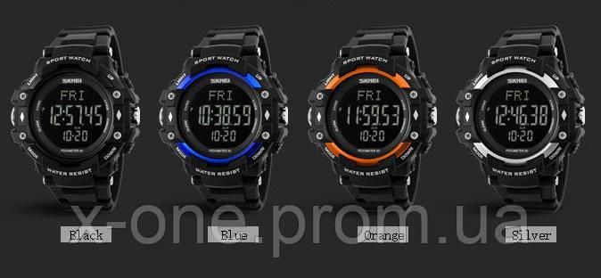 e4280957 ... Спортивные часы Skmei 1180 Black c Шагомером и Пульсометром., ...