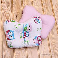 """Детская Ортопедическая подушка """"Совушка"""" для новорожденных"""