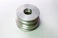 """Шкив трехручейковый (алюминиевый) стандарт мотоблока """"Нева"""", фото 1"""