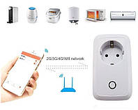 Wi-Fi розетка Sonoff S20, фото 1