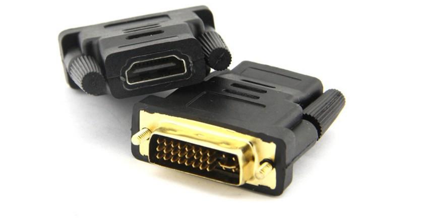 Переходник DVI 24+5 -HDMI(мама)