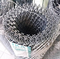 Сетка просечно-вытяжная 15х30х0,8х0,5 оцинк