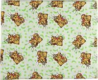 Пеленка фланель 90х80 см РУНО (203.05_10-0297 beige green)