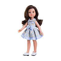 Кукла Paola Reina Кэрол в нежно-голубом, 32 см 4407 ТМ: Paola Reina