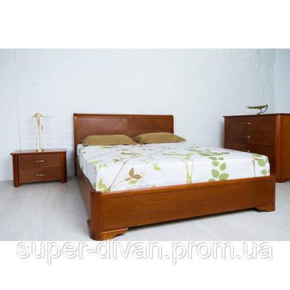 Кровать Ассоль (Бук) 1,4 с подъемным механизмом