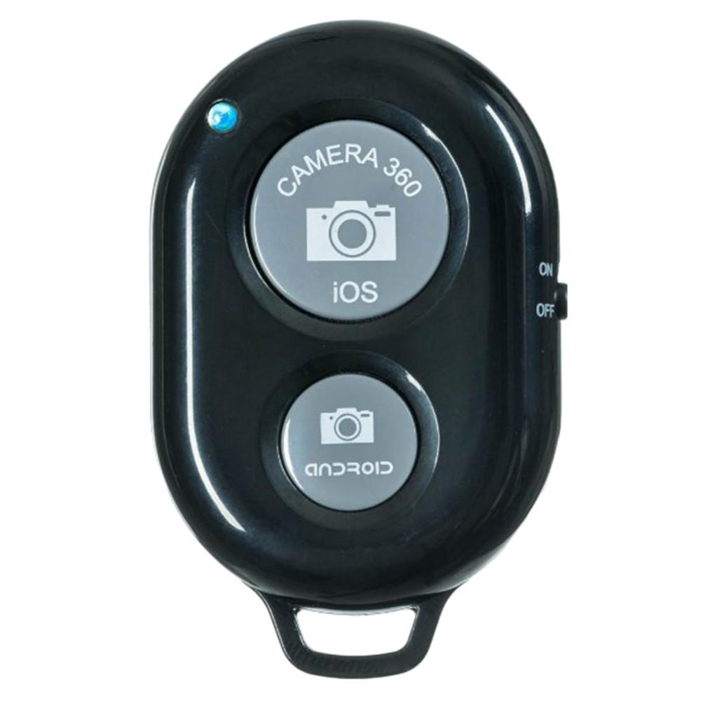 Пульт блютус для селфи для iPhone, Android. Bluetooth Remote shutter - цвет черный