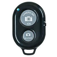 Пульт блютус для селфи для iPhone, Android. Bluetooth Remote shutter - цвет черный, фото 1