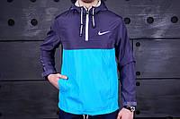 Мужской анорак, ветровка Nike на весну.