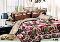 """Красивый двуспальный комплект постельного белья """"Ланжери""""."""