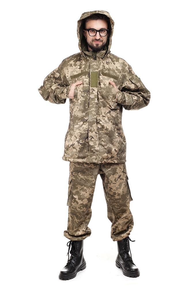 Куртка Парка влаго-ветрозащитная пиксель ВСУ