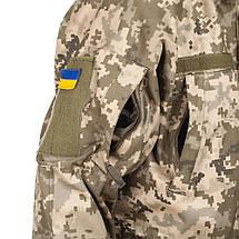 Куртка Парка влаго-ветрозащитная пиксель ВСУ, фото 3