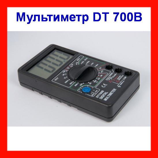Цифровой портативный мультиметр DT 700 B