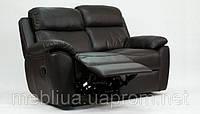 Алабама Біз - 2-х місний шкіряний диван з функцією релаксації («реклайнер») Алабама Біз