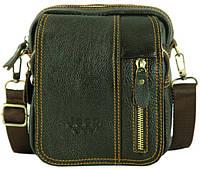 Мужская сумка-планшет из натуральной кожи Jeep 7171-10, коричневый