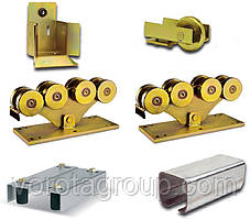 Комплект фурнитуры для откатных ворот Rolling Center Magnum (до 1200 кг)