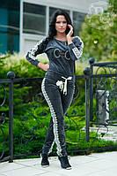 Велюровый женский костюм  VDP (гл)
