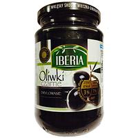 Оливки Iberia черные 340 г