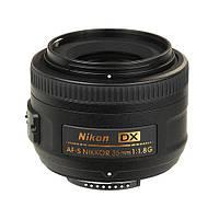 Об'єктив Nikon 35mm f/1.8G AF-S DX Nikkor Black