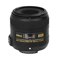Об'єктив Nikon 40mm f/2.8G ED AF-S DX Micro Nikkor Black