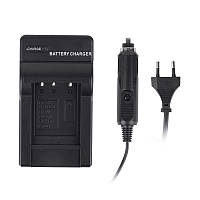 Зарядний пристрій для фотоапарату Extradigital Olympus Li-40B, Li-42B, KLIC-7006, EN-EL10 Black