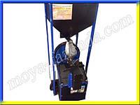 Шнековый кормоэкструдер (+ бункер с автоматической подачей зерна)