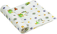 Пеленка фланель 90х110 см РУНО (204.05_10-0320 green)