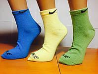 Носки женские спортивные «NIKE» 36-40р. Ассорти