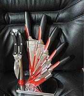 """Кухонные швейцарские ножи с подставкой, набор """"Swiss Zurich"""" - 7 предметов., фото 1"""