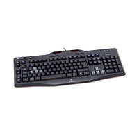 Клавіатура USB ігрова Logitech Gaming Keyboard G105 Black