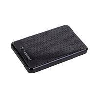 Жорсткий диск зовнішній HDD Transcend TS1TSJ25A3K Black