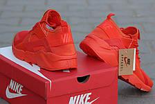 Кроссовки Nike Air Huarache летние,сетка  оранжевые 45р, фото 3