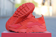 Кроссовки Nike Air Huarache летние,сетка  оранжевые 45р, фото 2
